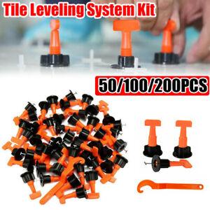 8 Stk Tool 200 Stk Nivelliersystem Verlegehilfe Verlegesystem Fliesen Verlegen