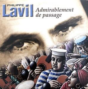 Philippe-Lavil-CD-Single-Admirablement-De-Passage-Promo-France-VG-M