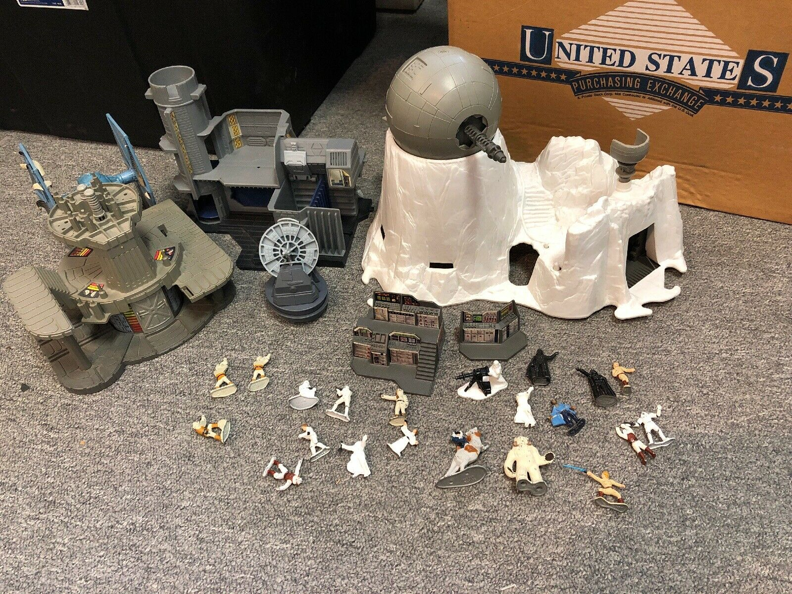1982 Kenner Star Wars Micro Collection Ice Tie Etc