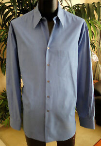 Giorgio-Armani-Casual-Shirt-16-5-36-XL-Made-in-Italy