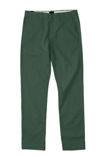 J.Crew Men/'s 32//30 NWT$69 Pine Green 770 Fit Cotton Stretch Chino Pants