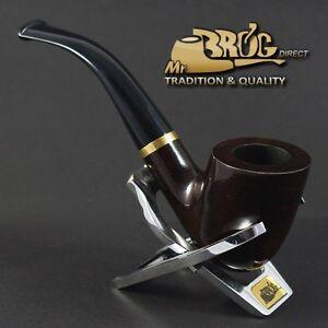 """90 /""""STEWARD/"""" ECCEZIONALE Mr.Brog originale pipa pipe erica bruyere Borgogna Nr"""