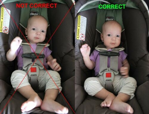 Maxi Cosi Mico infant Car Seat Harness replacement part Clip safety chest baby