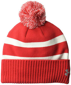 00ac3553f5f Image is loading NEW-MENS-UNDER-ARMOUR-UA-POM-BEANIE-HAT-