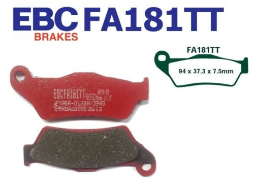 EBC Bremsbeläge FA181TT VORN CCM R 30 604//644 02-04 Spoke wheel