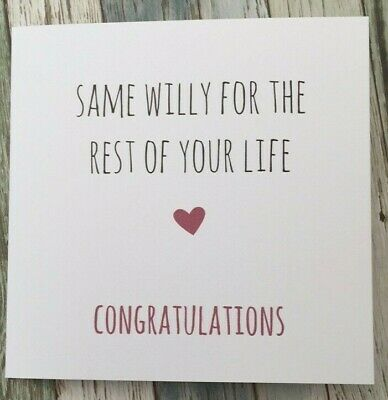Sarcasm LCW Funny Anniversary Valentine/'s Card Cheeky Humour Rude//  Banter