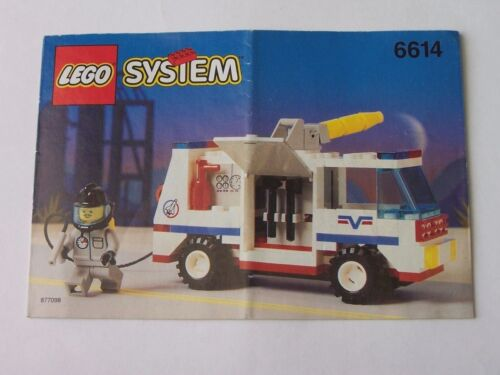 6614 LEGO® Bauanleitung Instruction Nr