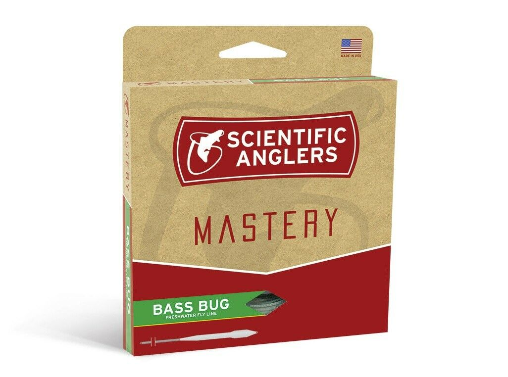 Scientific Anglers Mastery Bass Bug Fly Line-WF9F-New