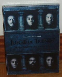 JUEGO-DE-TRONOS-GAME-OF-THRONES-6-TEMPORADA-COMPLETA-5-DVD-NUEVO-PRECINTADO-R2