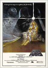 A1 A2 A3 A4 Sizes A0 Star Wars Cast Vintage Movie Poster