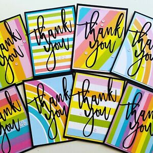 Thank You Sets of 8 Cards