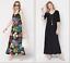Attitudes-by-Renee-Regular-Set-of-2-Printed-amp-Solid-Maxi-Dresses-Tropical-XXS thumbnail 1