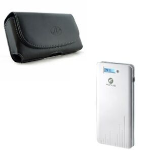 6000mAh-Power-Bank-Charger-w-Leather-Case-Belt-Clip-Holster-Z2K-for-Cell-Phones