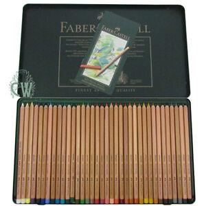 Faber Castell Pitt Pastel Pencil Set of 36. Artists Colour ...