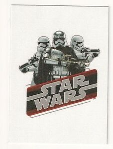 2015 Star Wars Journey to The Force Awakens Cloth Stickers #CS8 Captain Phasma
