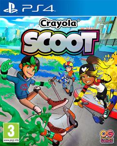 Crayola Scoot PS4 PLAYSTATION 4 Namco