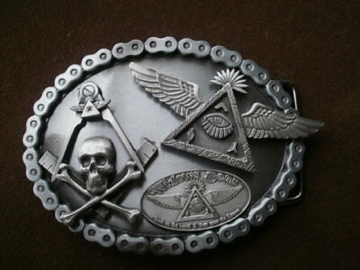 freemasons masonic belt buckle widows sons masonic biker ass