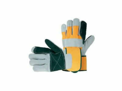 UCI USDPR Reinforced Double Palm Leather Rigger Work Gloves Extra Heavy Duty