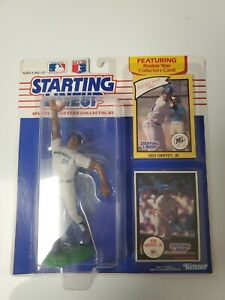 1990 Kenner Starting Lineup SLU Ken Griffey Jr. rookie piece Mariners near mint
