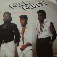 """Full Force(7"""" Vinyl P/S)Alice I Want You Just For Me-A 6640-UK-VG/Ex"""