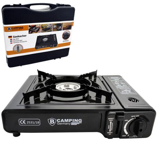 2,1 kW cartouches gaz butane plaque de sécurité Réchaud à gaz de camping max
