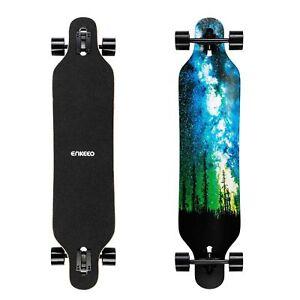 enkeeo longboard  Buy Enkeeo 40 Inch Drop-through Longboard Skateboard Complete ...