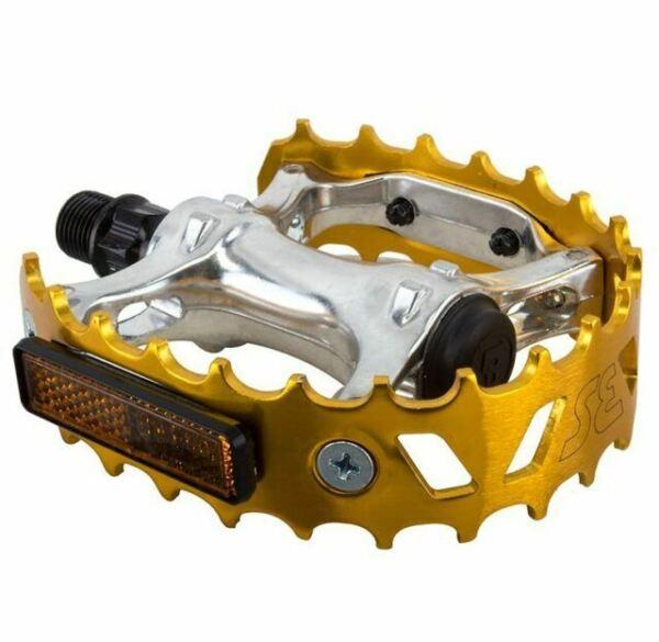 SE BIKES Pedals Se Bikes Bear Trap 9//16 Sl//Gd