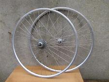 MOYEUX CAMPAGNOLO JANTES RIGIDA ALU ROUES VELO VINTAGE BICYCLE WHEELSET 700