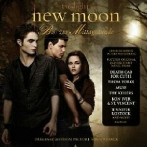 The-Twilight-Saga-NEW-Moon-morso-per-CD-DVD-NUOVO
