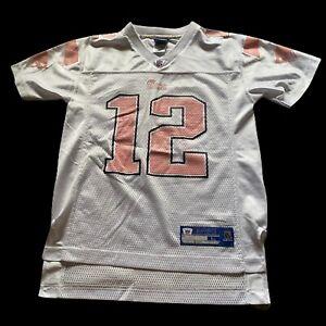 pink and white tom brady jersey