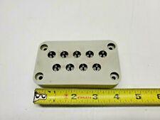 High Vacuum Plastic Rectangular 9 Pin Electrical Feedthrough