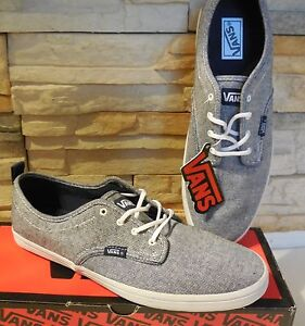 45fbab49e4 New Vans M Quinn sneakers grey washed lace skate men shoes textile ...