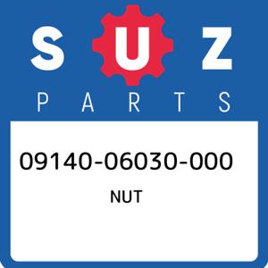 09140-06030-000-Suzuki-Nut-0914006030000-New-Genuine-OEM-Part