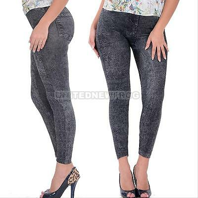 Fashion NEW Sexy Women Jean Skinny Jeggings Stretchy Slim Leggings Skinny Pants