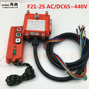 Details about Wireless Industrial Remote Controller Electric Hoist Remote  Control F21-2S UTING