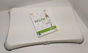 Nintendo Wii Fit Balance Board - w/ Wii Fit Video Game - Tested Works