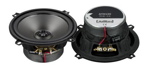Axton atx130 13 cm 2-caminos coaxial auto altavoces coaxial-altavoces 70 watt RMS