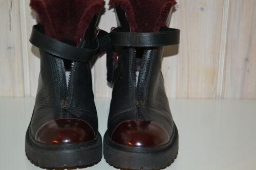 Hochwertige-Designer-KENZO-Damen-Schuhe/Stiefeletten/Boots-Echtleder-Gr40-Winter