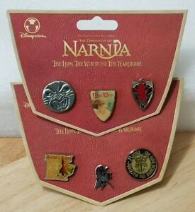 Chronicles-of-Narnia-6-Pin-Set-The-Good-amp-The-Bad