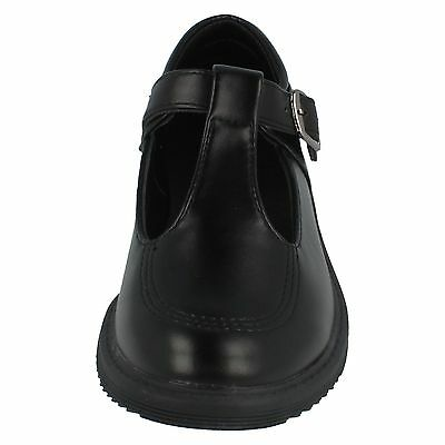 Girls H2433 Black Synthetic T Bar Shoe By Cool 4 School £14.99