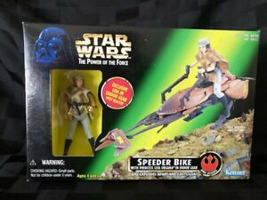 Star-Wars-PotF-Speeder-Bike-with-Princess-Leia-Kenner-1997