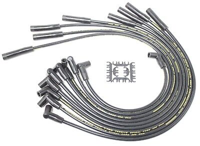 MAXX 549B 8.5mm Spark Plug Wires 68-76 Big Block Ford 351C 351M 400 429 460 HEI