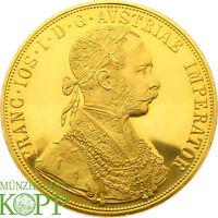 AA2091) Österreich 4 Dukaten 1915 Franz Joseph I., 1848-1916