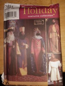 Details about simplicity sewing patterns 7031 Christmas Nativity / medieval