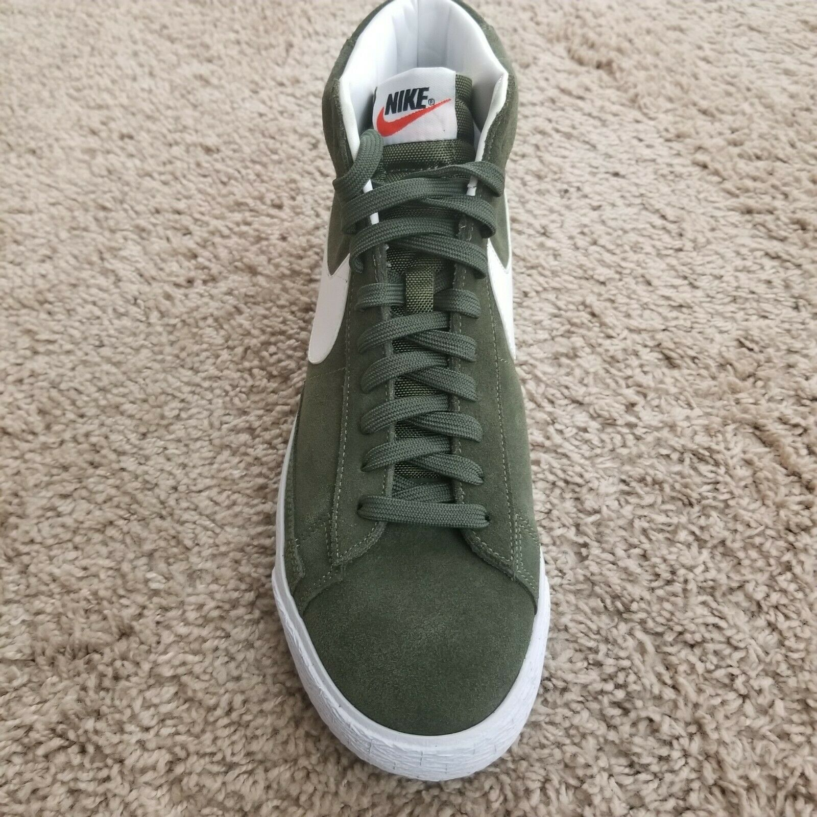 NEW Nike Men's Blazer Mid Premium Green White 429988-303 Men's Size