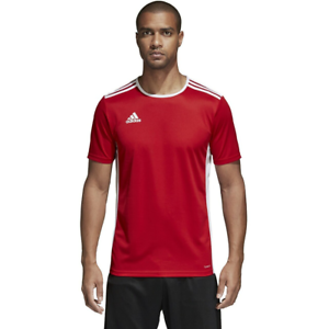 Details about Men's Adidas Entrada 18 Soccer Jersey Red/White