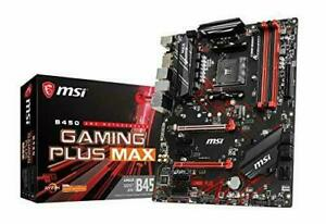 MSI B450 GAMING PLUS MAX ATX motherboard MB4821 NEW from...