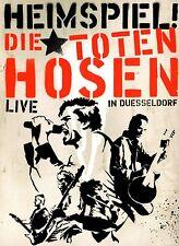 DIE TOTEN HOSEN - HEIMSPIEL DVD (2005) + BEIHEFT / LIVE IN DÜSSELDORF / 160 MIN.