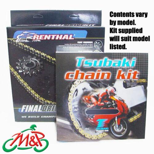 Z750R 2011 Tsubaki Drive Chain and Renthal Sprockets Kit