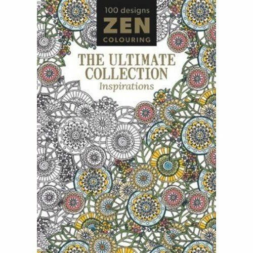 Zen Colouring: The Ultimate Collection - Inspirations, Excellent Books